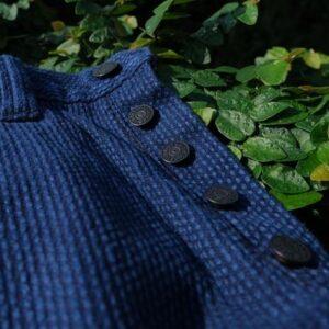 PURE BLUE JAPAN INTRODUCED THE DOUBLE NATURAL INDIGO SASHIKO SELVEDGE JEANS
